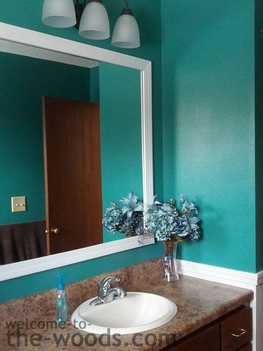 Bathroom Mirror Decorative Trim best 25+ bathroom mirror cabinet ideas on pinterest   mirror