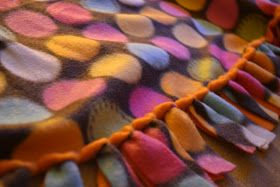 You Seriously Made That!?: No Sew Looped Blanket