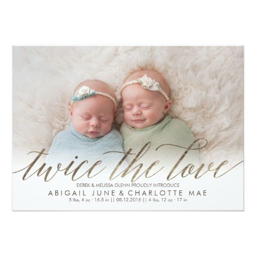 Love Each Other When Two Souls: Best 25+ Twin Baby Announcements Ideas On Pinterest