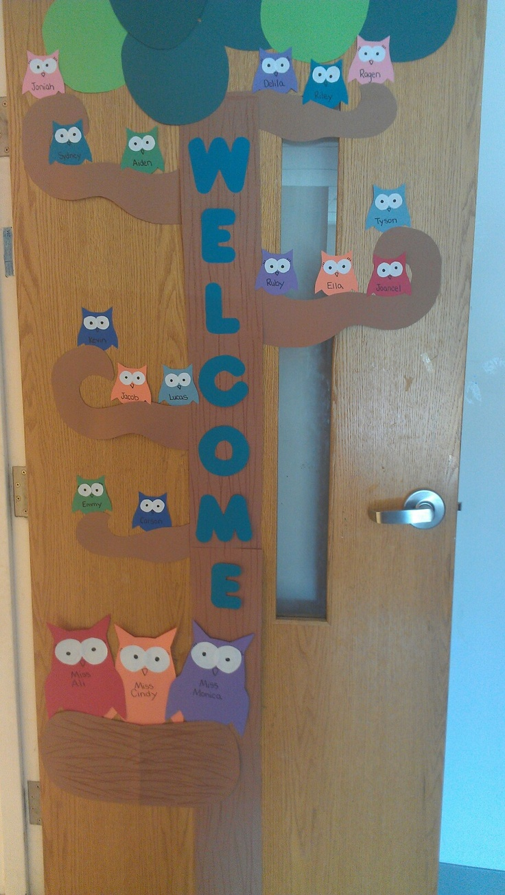 Preschool Open House Door For My Classroom Pinterest Preschool Open Houses Open House And