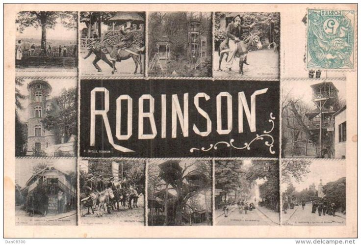 Les Guinguettes de Robinson was the place to be in the summer of the 1850s. Parisians descended to the small district south of the city en masse to relax high up in the branches of chestnut trees and dance in the forest.