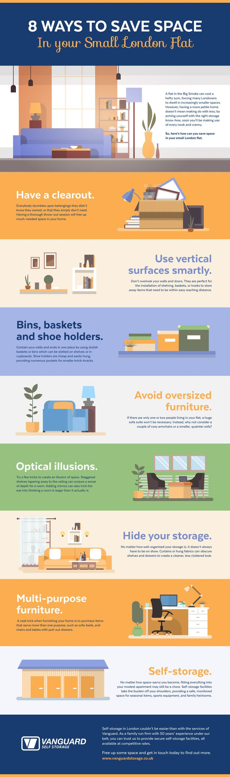 19 best house home infographics images on pinterest info how to save space in your flat fandeluxe Image collections