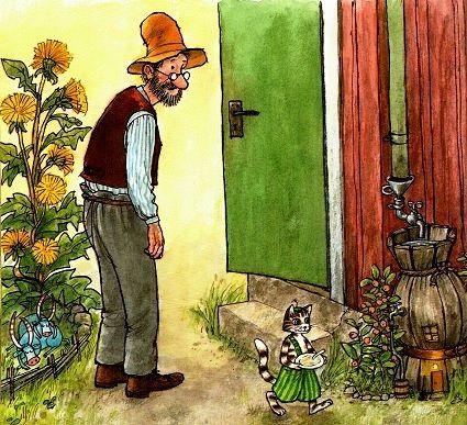 10 Петсон и Финдус. Петсон переезжает. Детские книги онлайн