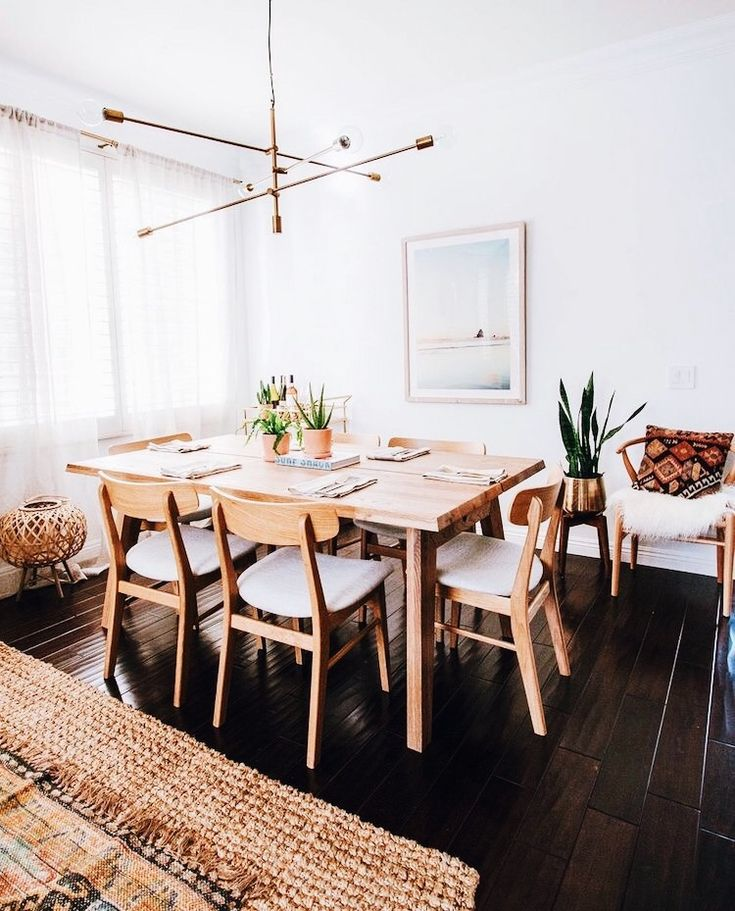 Find This Pin And More On Dining Room  Vintage Modern By BrightGreenDoor.