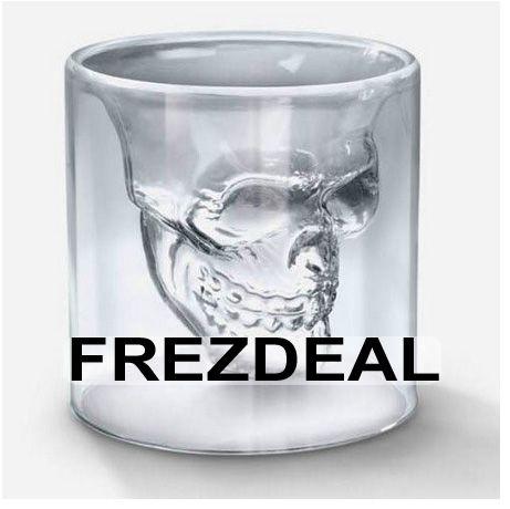 New Crystal Skull Shot Glass / Crystal Skull Head Vodka Shot Wine Glass Novelty Cup. http://www.frezdeal.com/productdetails/797/new-crystal-skull-shot-glass-crystal-skull-head-vodka-shot-wine-glass-novelty-cup.html