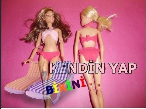 Kendin Yap Barbie Bikini Yapımı / Yap Yap - YouTube
