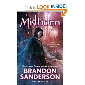 Mistborn- Brandon Sanderson