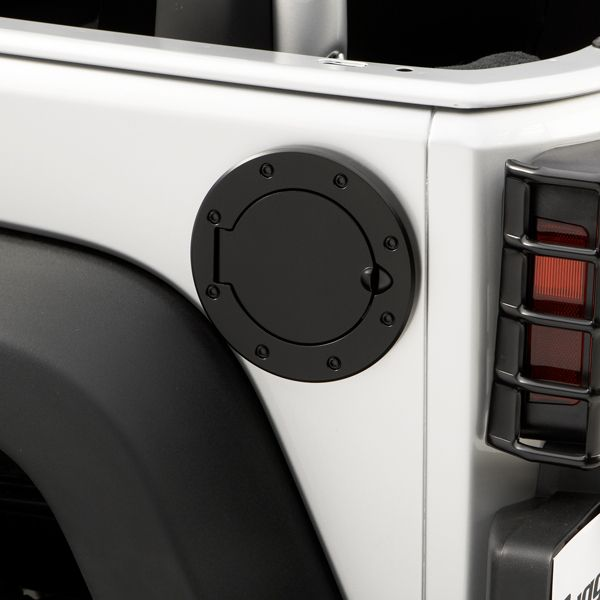 Non-Locking Gas Cap Door Black 07-13 Jeep JK Wrangler jeep, wrangler, soft, tops [11229.02] : JK Jeep Accessories, 2007-2013 JK Jeep Wrangler JK Jeep Parts and Accessories. Your Source for JK Jeep Wrangler Parts and Accessories.