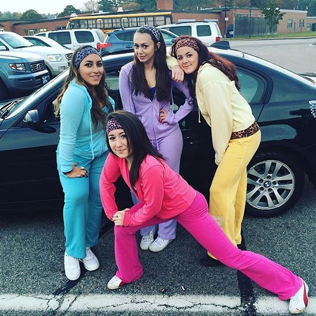Pin for Later: Oops, We Did It Again . . . 31 Millennial Costumes That Are So Fetch The Cheetah Girls: The Costume Colorful sweatsuits and headbands are key to nailing this costume!