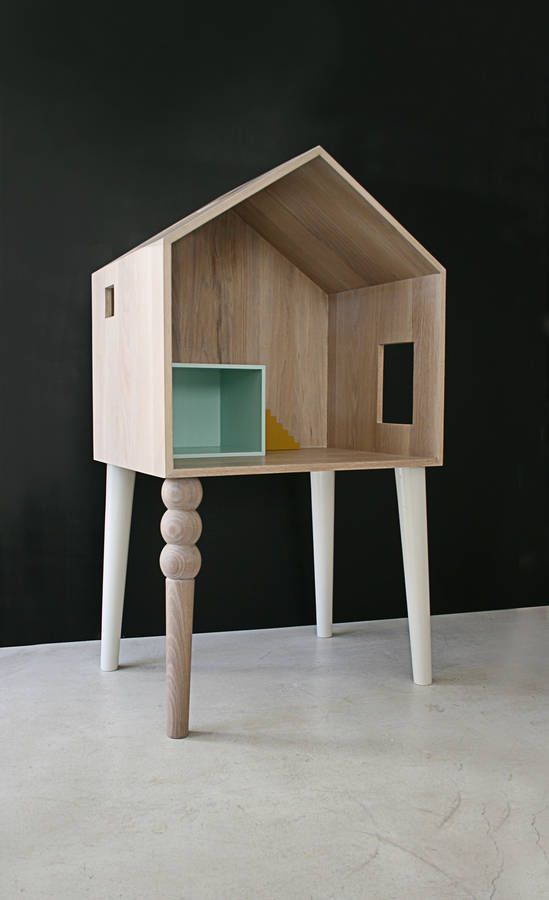 the lola dolls house desk by sisters guild | notonthehighstreet.com