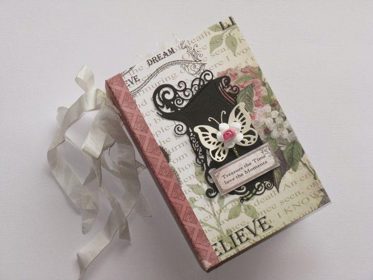Couture Creations: Vintage Rose Garden Mini Album by Jo Piccirilli | #couturecreationsaus #minialbum #deocrativedies #embossingfolders #vintagerosegarden