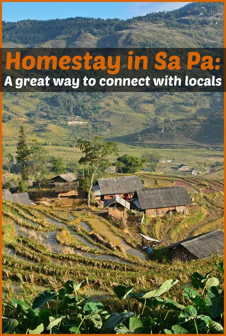 Stay with a local H'mong family in Sa Pa, Vietnam for a wonderfully authentic travel experience.