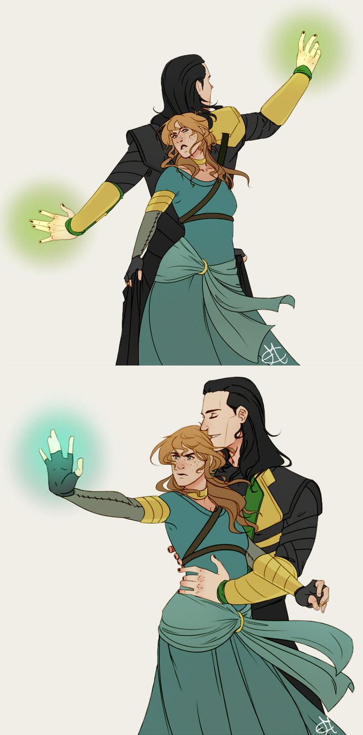 Seidr Energizer Batteries by Nanihoo-- Loki and Sigyn