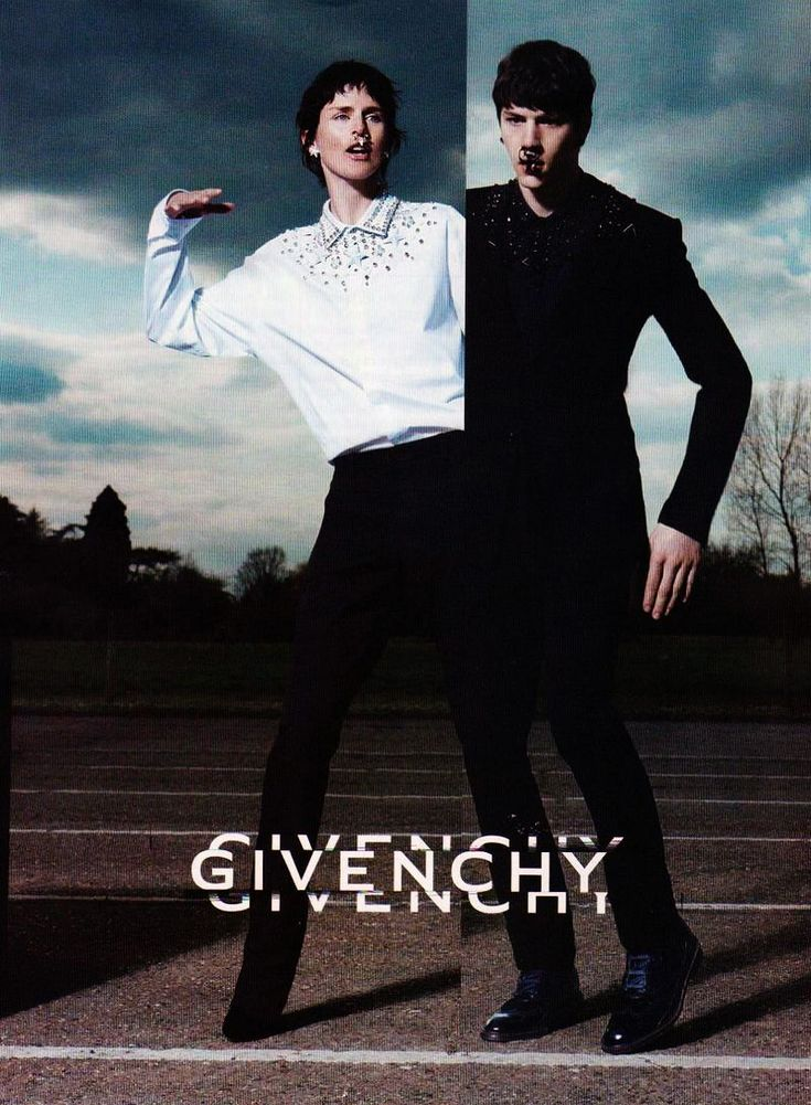 Givenchy, Fall Campaign Stella Tennant by M and Roitfeld