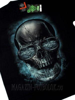 casino skull - 3 д футболки с черепами.
