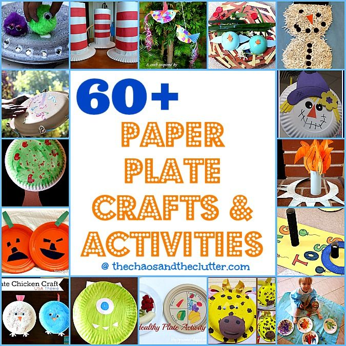 over 60 Paper Plate Crafts & Activities @Matt Valk Chuah Chaos and The Clutter