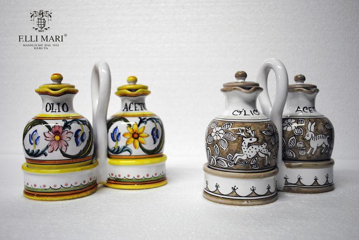 Which is your favorite? / Quale preferite? 1. Millefiori 2. Lepre Beige #italianceramics #handmade #madeinitaly