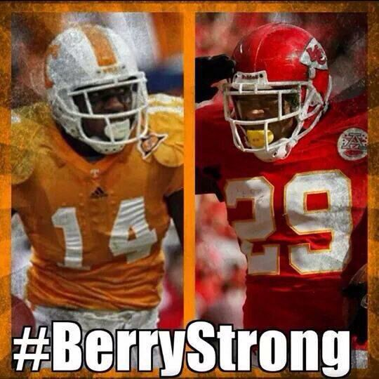 We are berry strong! Pray for Eric during this difficult time.