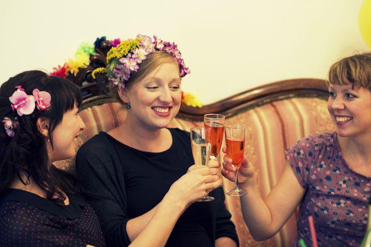 In der Beauty-Lounge von Püppikram in Berlin Friedrichshain kannst du deinen perfekten Junggesellinnenabschied starten.