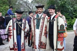 Real Hungarian folk-wedding nowadays:)