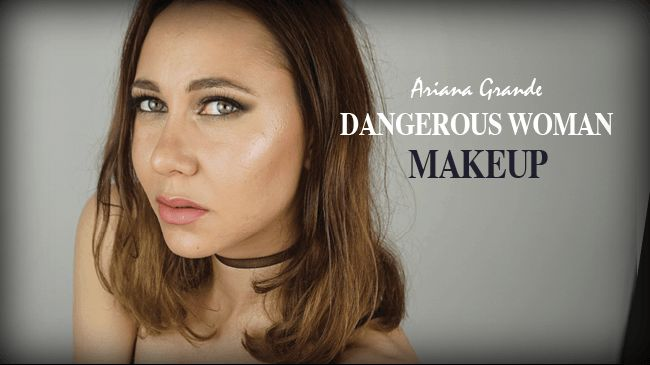 maquillage ariana grande dangerous woman