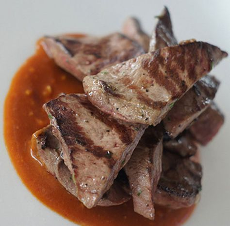 Grilled Bolivian Ox Heart Anticucho #Recipe