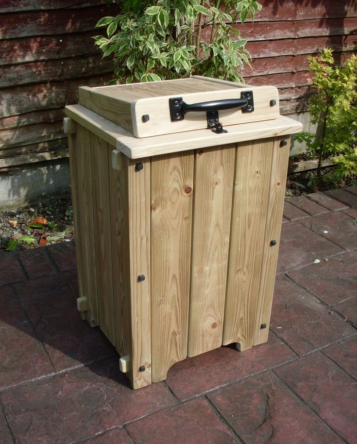 Parcel drop box. Lockable weather proof delivery box for when you're out.