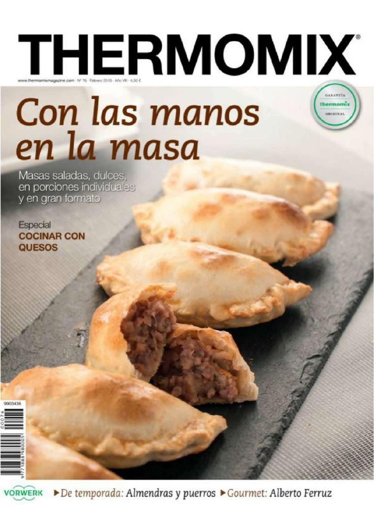 Thermomix magazine 76 febrero 2015 by Luis Romao