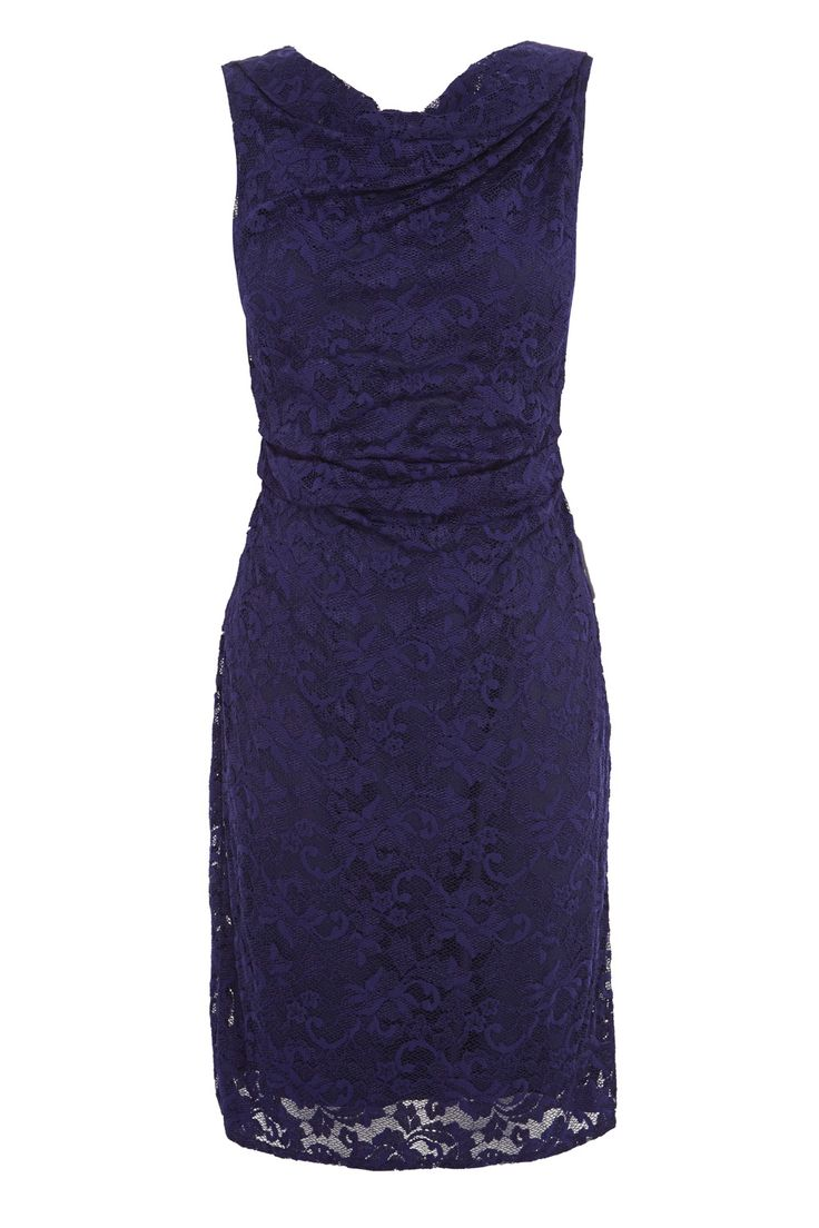 A classically chic style crafted from a romantic floral lace. The Lianna Lace dress has beautifully draped neckline and relaxed ruche detailing on the bodice which makes for a sumptuous and luxurious look. Expertly tailored to hug your curves this dress is truly something special. Fully lined for the ultimate comfort this dress is 81cm/ 32 inches in length from underarm to hem. Height of model shown: 5ft 9inches/175cm. Model wears: UK 10.