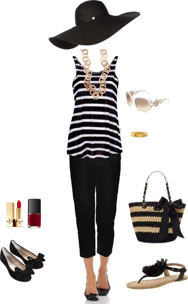 summer classic, created by beckijoko on Polyvore