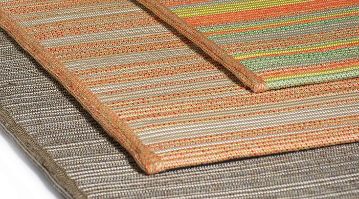 Linha de tapetes outdoor Marina da Tidelli