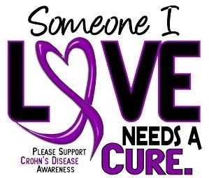 Crohns and Colitis Awareness<3 I love my sister and my baby cousin<3