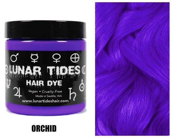 Bright Violet Purple Hair Dye Etsy In 2020 Dyed Hair Purple Dyed Hair Vegan Hair Dye