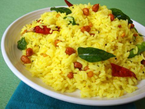 Nimmakaya Annam ~ Lemon Rice - Indian Food Recipes | Andhra Recipes | Indian Dishes Recipes | Sailu's Kitchen