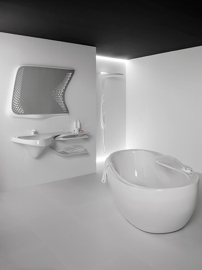los que el futurismo en interiores se aplican de forma propia al de