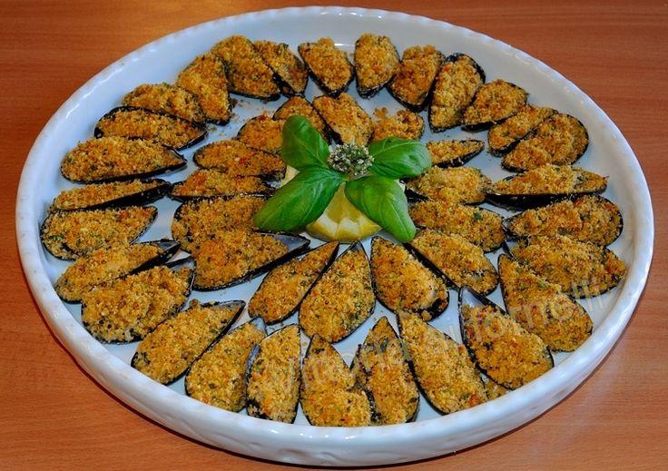 cozze-gratinate