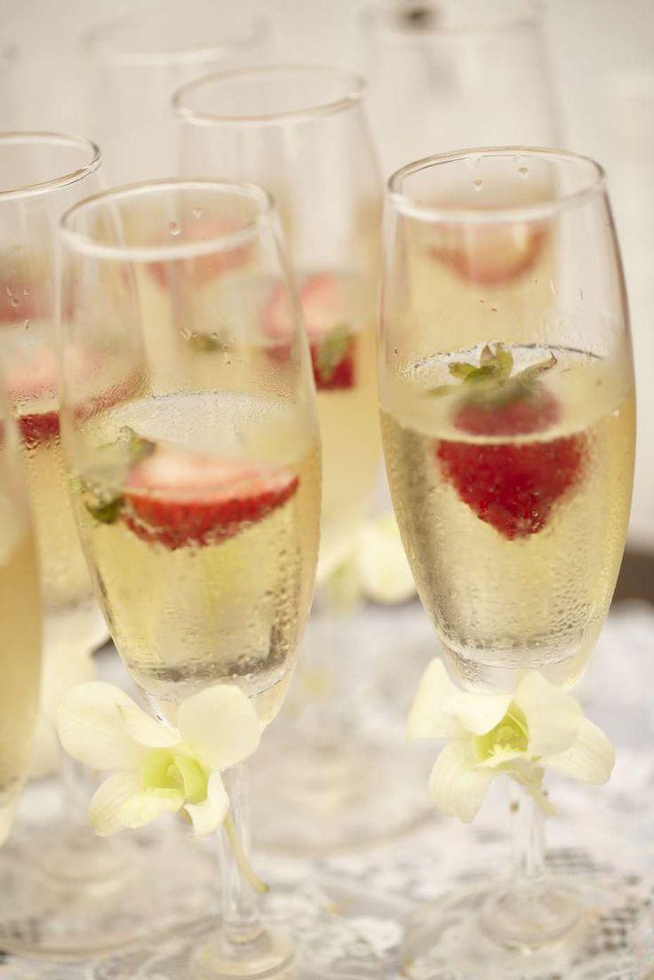 Strawberries and champagne! #farawayweddings #weddingsinthailand #pawanthornluxuryvillas