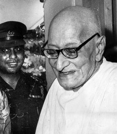 Rajaji - Chakravarti Rajagopalachari (10 December 1878 – 25 December 1972) Statesman, Freedom fighter, Lawyer, Last Governor General of India, Social reformer, Philosopher, Author and Composer.  He vehemently opposed the use of nuclear weapons and was a proponent of world peace and disarmament.