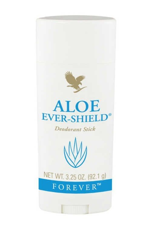 Aloe Deodorant ... Keeps you from sweating and smelling. Also great for cuts, wounds and burns as this is literally a block of pure aloe. Contains no aluminium salts which are said to have heavy links to breast cancer these days and will last between three and ten months per block. www.katieforbes.myforever.biz/store