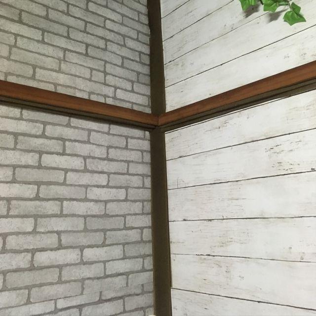リメイクシート 砂壁を何とかしたい 砂壁 壁 天井 木目調 などの
