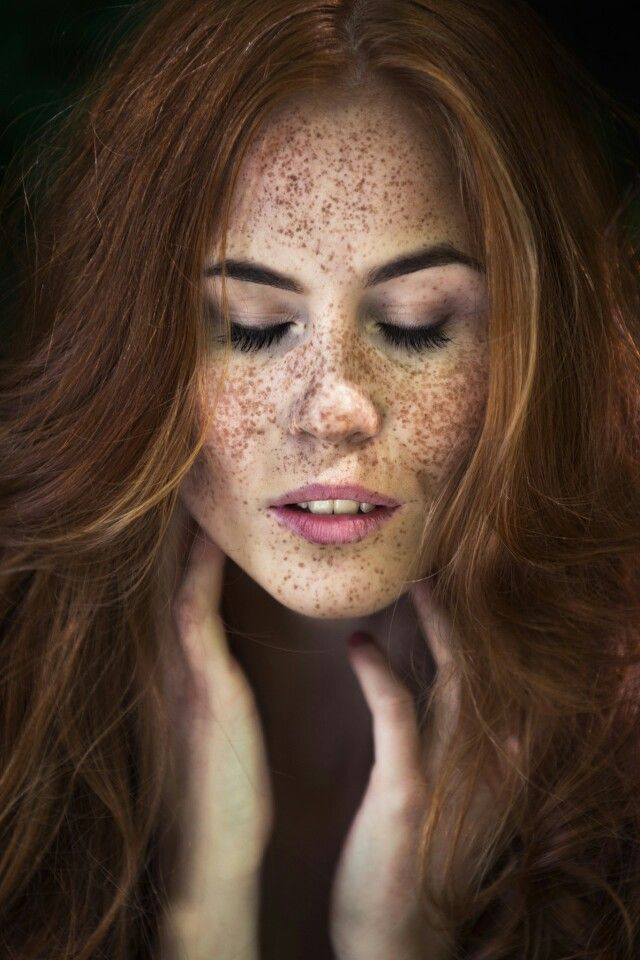 Freckle gallery redhead — img 7