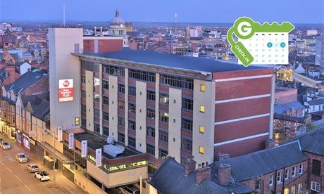 Get UK Deal: Nottingham: 4* Double Room with Breakfast for just: £65.00 Nottingham: Double Room for Two with Breakfast and Option for Dinner at 4* Best Western Plus Nottingham City Centre  >> BUY & SAVE Now!
