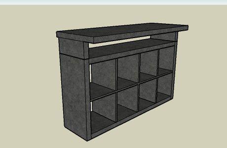ikea dj console consoles and ikea. Black Bedroom Furniture Sets. Home Design Ideas