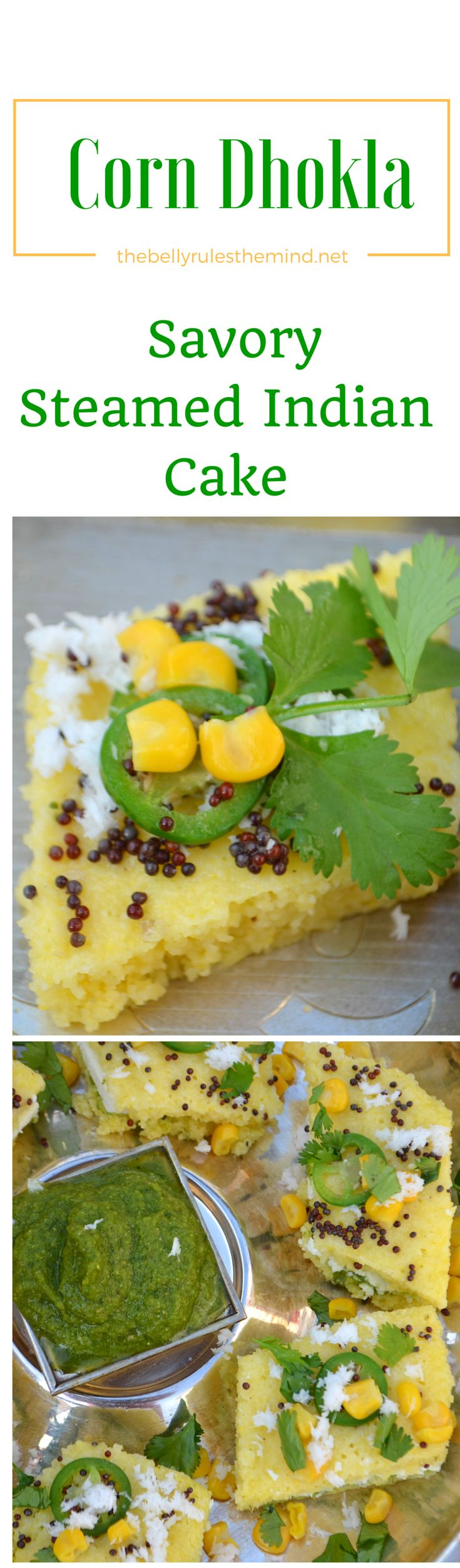 Instant Corn Dhokla recipe with step by step photos. learn how to make popular Snack>>> http://wp.me/p7oUc4-zy