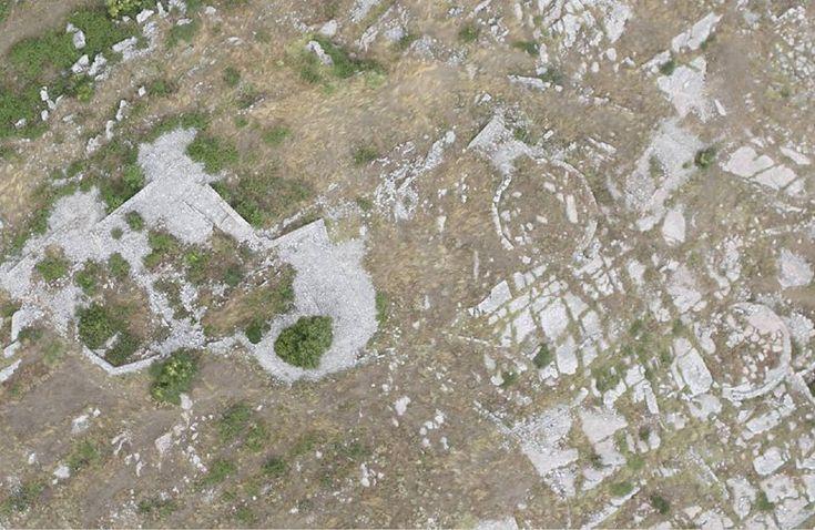 Rilievo 3D con droni del sito archeologico ellenistico di Jergucat , Jorgucat, 2014 - Alberto Antinori