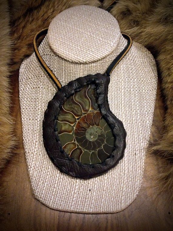 Hart of Ammonite by ReliquariumDesigns on Etsy