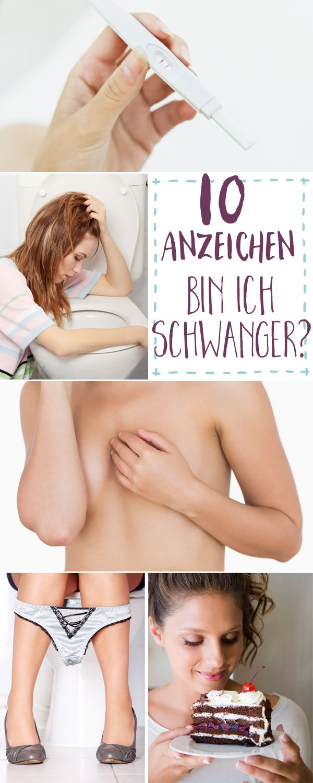 Schwangerschaftsanzeichen: 10 typische Symptome - Bilder