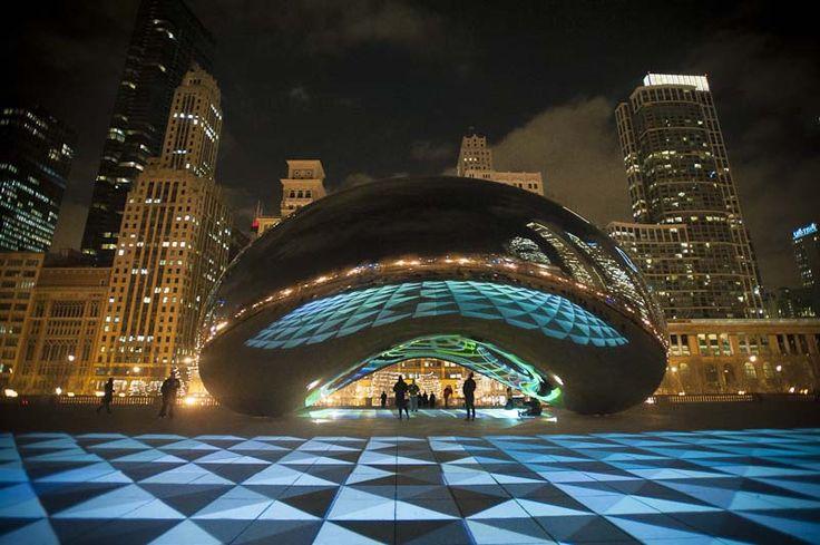 1000 images about av chicago lighting building projection on pinterest language. Black Bedroom Furniture Sets. Home Design Ideas