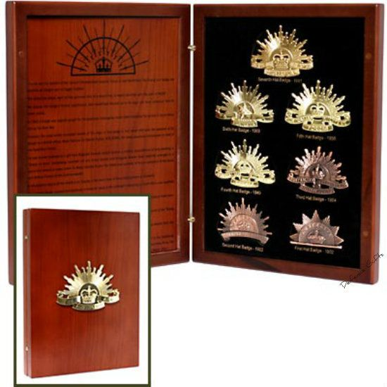 Defence Gifts - The Rising Sun Collection, $99.95 (http://www.defencegifts.com.au/the-rising-sun-collection/)