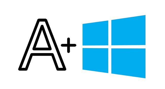 How To Change System Font Text Size On Windows 10 Goruntuler